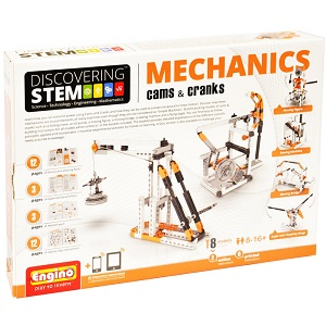 STEM Cams and Cranks Elenco ENG STEM04