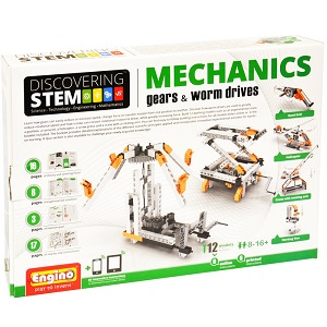 STEM Mechanical Gears and Worm Drives Elenco ENGSTEM-05