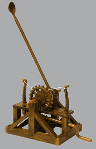 Da Vinci Catapult 1