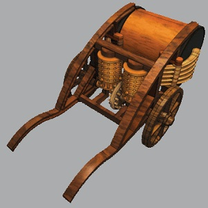Da Vinci Mechanical Drum 1
