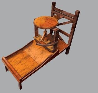 Da Vinci Printing Press 1