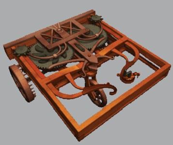 Da Vinci Self-Propelled Cart 1