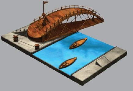 Da Vinci Swing Bridge 1