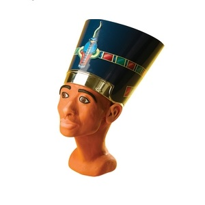 Peg Sculpture Head QueenNefertiti Discovery Planet