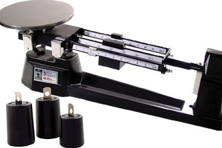 triple beam balance grams x 01 g