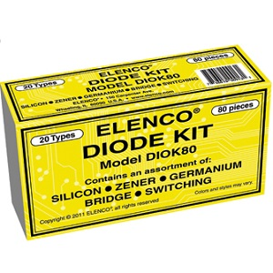 Elenco Diode Kit Model-DIOK80