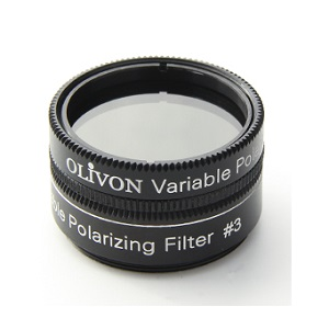 "Variable Polarizing Filter 1.25"" Olivon 92083"