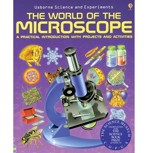 The World of the Microscope Book Celestron 44402