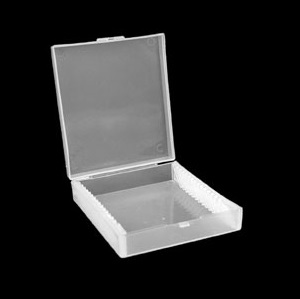 Polypropylene Slide Box 15 Walter B17101 large