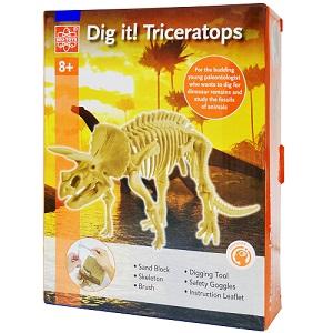 DigIt Triceratops-Elenco-Edu37261b