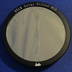 Solar Filter Vixen SG58mmsol 6775