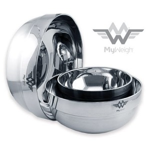 Stainless Steel Bowls MyWeigh