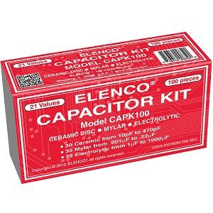 Capacitor Kit Elenco CAPK100