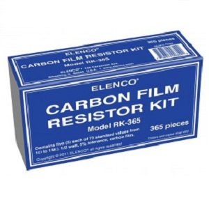 Carbon Film Resistor Kit Elenco RK3651