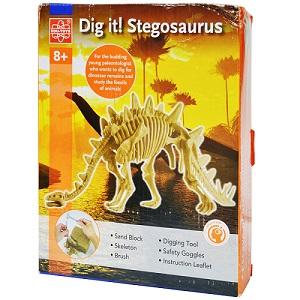 Dig It Stegosaurus Elenco EDU37394